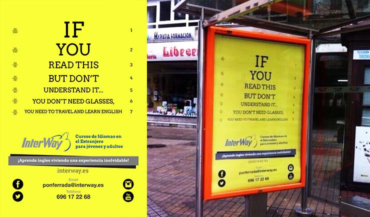 Campaña publicitaria Beaesreal.es